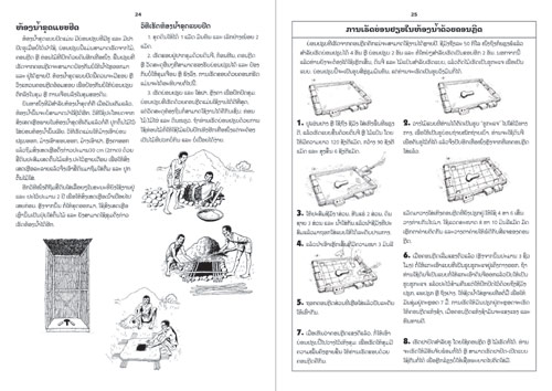 Samples pages from our book: Sanitation and Toilets