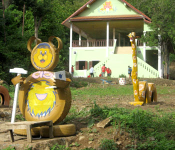 Big Brother Mouse opens our new Learning Center and Discovery World on the outskirts of Luang Prabang