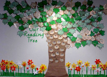 The Readathon Tree at Melbourne Girls Grammar School.